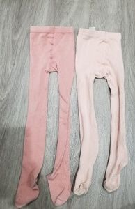 Zara girls tights